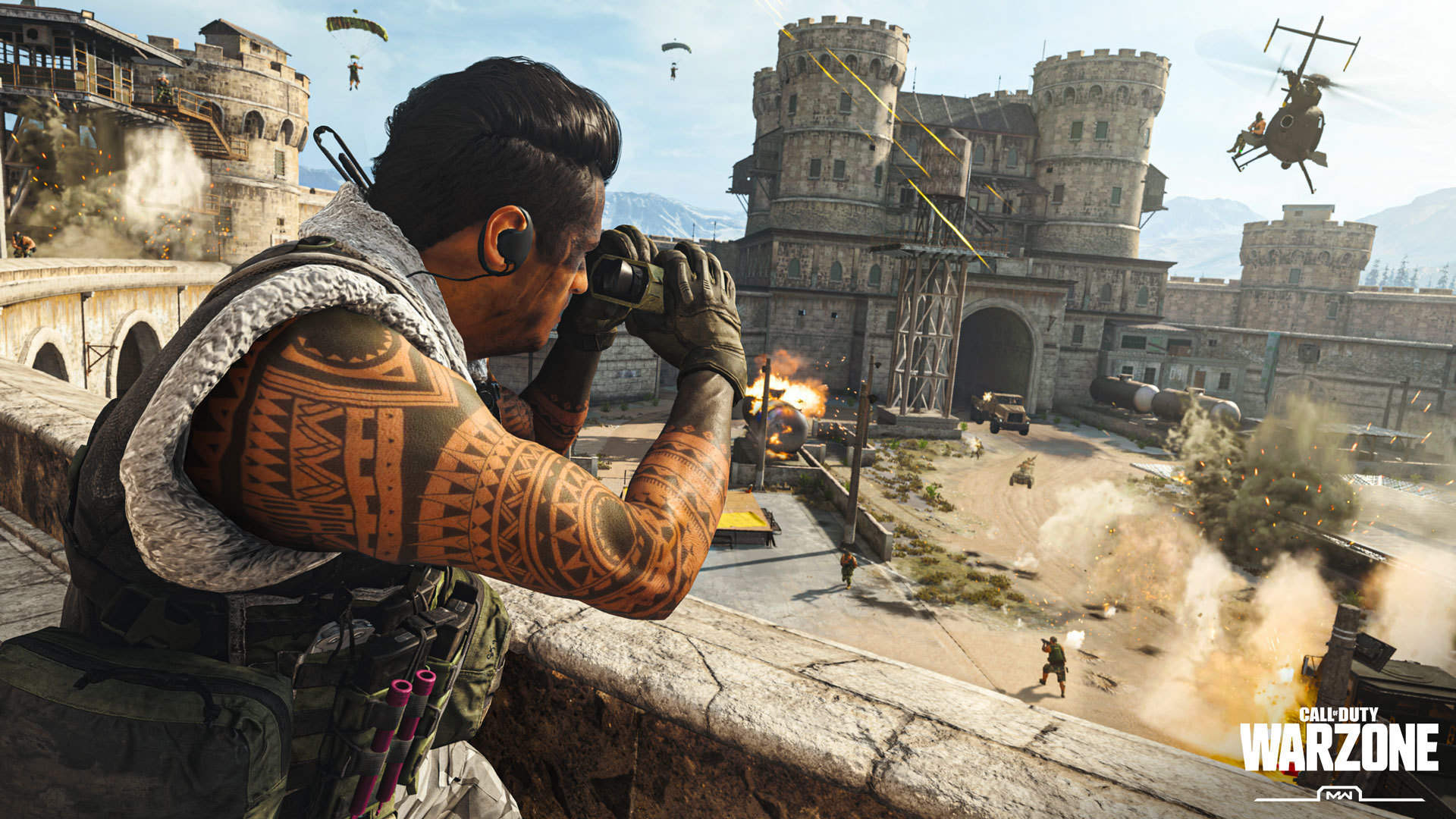 Call of Duty Warzone Battle Royale is Free To Play