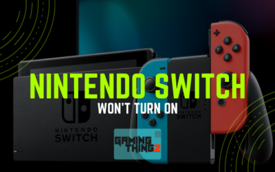 Nintendo Switch Won't Turn On
