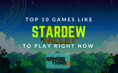 Top 10 Games Like Stardew To Play Right Now