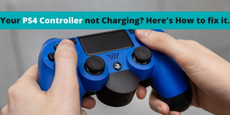 Your PS4 controller not charging? Here's how to fix it.
